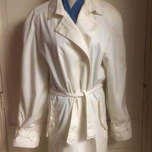 Gianni Versace UNISEX lightweight cream trenchcoat